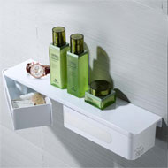 Shelf with Two Strong Box - Mirror Poli