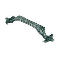 Cabinet Handle - 123mm - Antique Iron T