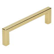 Cabinet Handle in Bright Brass Finish