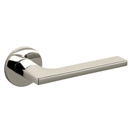 LOTUS Door Handle - Brass - Super Nicke