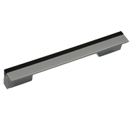 Cabinet Handle - 148mm -  White Aluminu