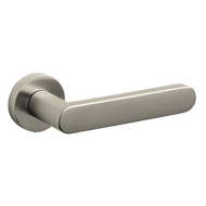 LINK Door Handle - Brass Super Nickel S