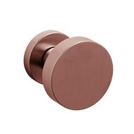 LINK Central Door Knob - Brass - Super