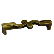 Cabinet Handle - Soft Shaded Gold Finis