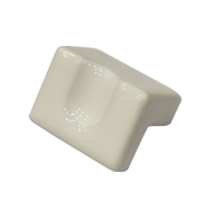 Ceramic Cabinet Knob - White Colour - 3