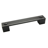 Cabinet Handle in Classic aluminum vint