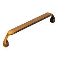 Cabinet Handle - 170mm - Black Brass Br