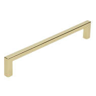 Cabinet Handle - 168mm - Bright Brass F