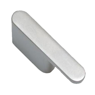 Cabinet Handle - 140mm - Aluminum Coloured Finish