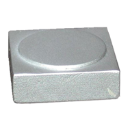 Cabinet Knob - 24mm - Aluminum Coloured Finish