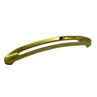 Cabinet Handle - 180mm - PVD Gold Finish