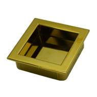 Flush Cabinet Handle - 56mm - PVD Gold Finish