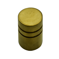 Cabinet Knob - PVD Gold Finish - Dia : 15mm H : 25mm