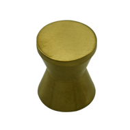 Damru Cabinet Knob  - PVD Gold Finish