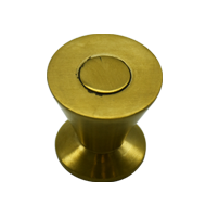 Cabinet Knob - PVD Gold Finish - Dia : 25mm H : 25mm