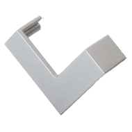Cabinet Handle - 59mm - Aluminum Coloured Finish