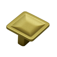 Cabinet Knob - Natural Brass Finish - 3