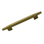 Cabinet Handle - Natural Brass Finish -