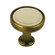 Cabinet Knob - 23mm - Antique Brushed w