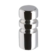 Cabinet Knob  - 12mm - Bright Chrome Fi