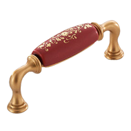 Luxury Ceramic Furniture Handle - 96mm