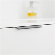 Aluminium Cabinet Handle - 200mm - Brus
