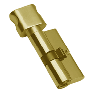 Cylinder - LXK - 70mm - Gold Finish