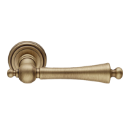 Heidi Door Lever Handle on rose - Patin