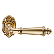 AIDA Door Lever Handle on rose - French