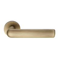 Strip Door Lever Handles on rose - Pati