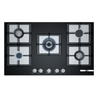 Bosch 4 Gas Glass hob - 90 cm Black - F