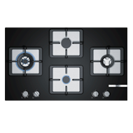 Bosch 4 Gas Glass hob - 90 cm - Black -