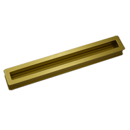 Cabinet Flush Handle - 280mm - Matt Gol