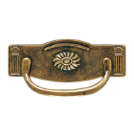 Cabinet Handle & Pull - 64mm - Antique