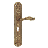JARDIN Lever Handle on Plate