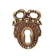 Key Hole - 48mm - Patine Escutcheon Finish