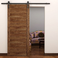 Loft Sliding Wooden Door System without