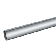 OVAL TUBE - SS Finish - 3.6 Mtr.