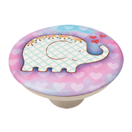 Baby Elephant Design Cabinet Knob for C