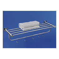 Sapphire Towel Rack With Hook