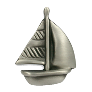 Kids Ship Cabinet Knob in Antique Iron Brushed finish from Siro