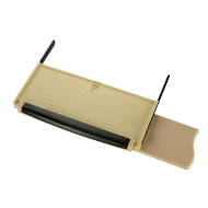 Keyboard Drawer DENZO Soft Pad & Mouse Tray