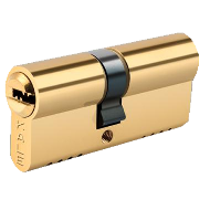 Special Cylinder with 7 Keys - 62mm - Satin Nickel Finish