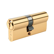 Standard Cylinder - 62mm - Brass Plated Finish
