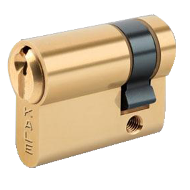 Cylinder - 45mm - Brass Nickel Plated F