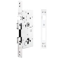Door Lock - Chrome Plated Finish