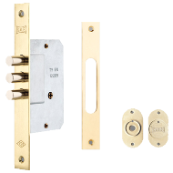 Door Lock - Stainless Steel Finish
