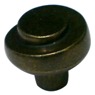 Cabinet Knob  - Antique Brass - 3358