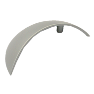 Cabinet Handle - 119mm - Aluminium Coloured Finish