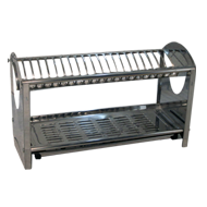 Flat Dish Rack - Stainless Steel - 55 Cm